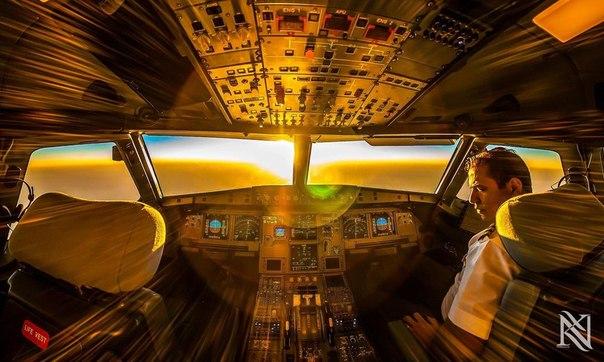 Что видит пилот