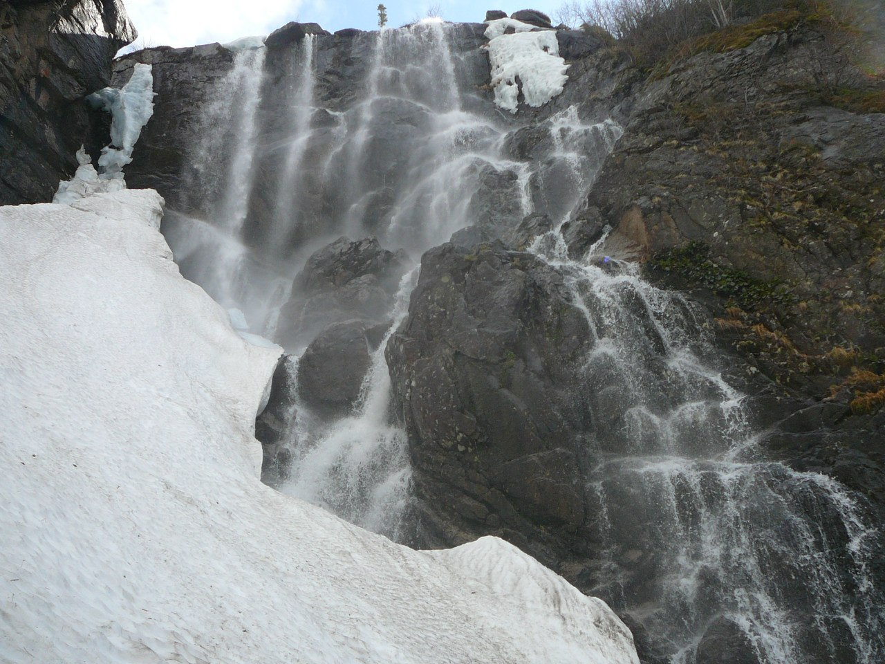 Ергаки, водопад Грация