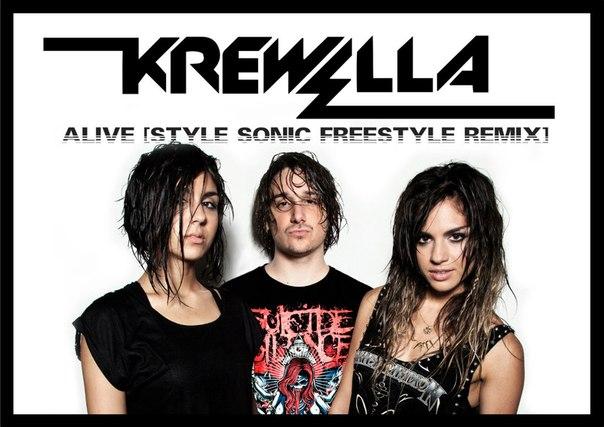 Krewella - Alive [Style Sonic freestyle Remix]