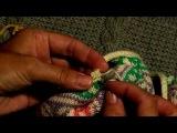 Урок 9  Обработка горловины кокетки, окончание работы   Школа вязания  Шерстяные истории
