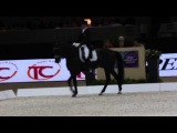 Edward Gall &amp Glock's Undercover Final World Cup Lyon 2014 GP Freestyle Dressage