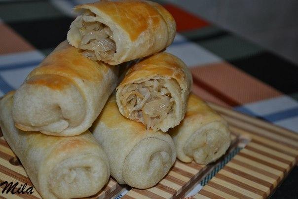Вэрзере - молдавские пирожки с капустой