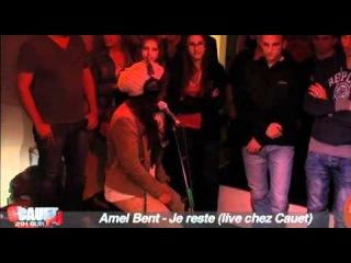 Amel Bent - Je reste (live chez Cauet)