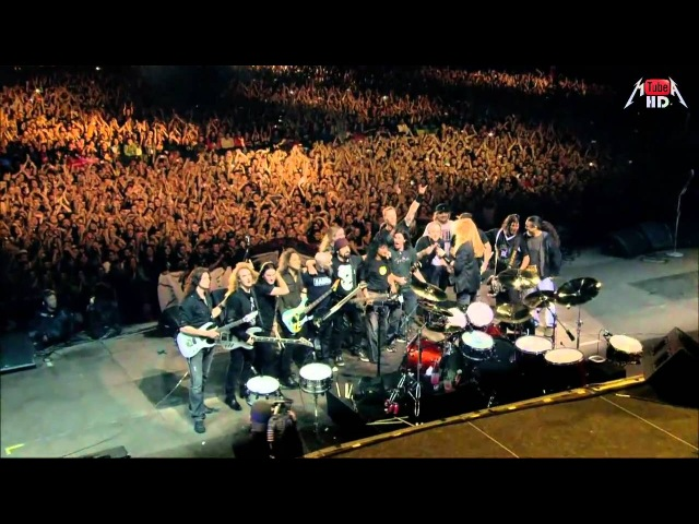 Metallica, Slayer, Megadeth, Anthrax - Big 4 HD 1280 x 720 Medley - (Am I evil - Hit The Lights - Seek And Destroy) - PART 4 -