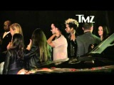 Bill & Tom Kaulitz in Aerosmith Concert Afterparty/Pink Taco in Los Angeles, USA .(06/08/2012)