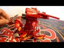 Bakugan DEKA Lumino Dragonoid Pyrus Battle gear JETKOR (knigograd)