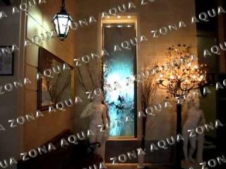 Водопад по зеркалу Ресторан Невский