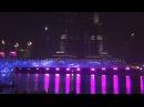 Световое огненное шоу фонтанов в Дубаи 1