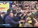 Визит Януковича в Славутич репортаж ПЕРШИЙ Нац. канал
