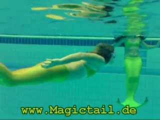 Magictail - a real mermaid tail for swimming! Magictail - настоящий хвост русалки для плавания!
