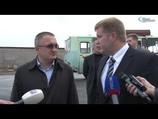 2012 09 04 Посещение мэром асфальтового завода