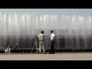 Центр Ташкента. Запрет на съёмку панорамы