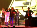Safety Dance - Kevin McHale (with Darren Criss, ridic costumes for all) - O2 Dublin 3 July 2011