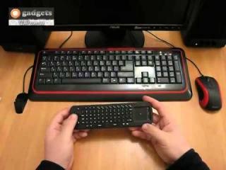 Микро Клавиатура и Сенсорная мышь 2 в 1MEASY видео обзор Цена: 340грн.