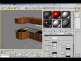 Моделирование кухни в 3д макс kuhnya 009