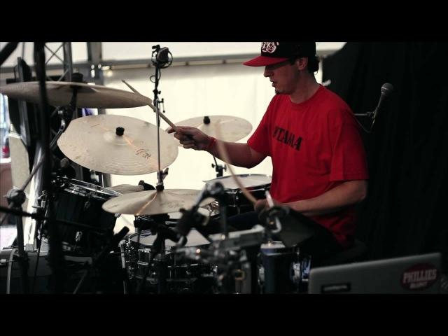 Adam Deitch @ D-DAY - Drummers Meeting Meppel 2012. Rimshot Drum Centre 4