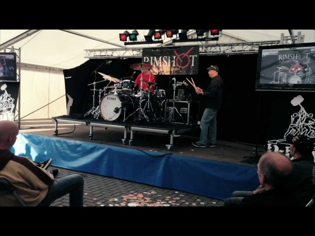 Adam Deitch @ D-DAY - Drummers Meeting Meppel 2012. Rimshot Drum Centre 3