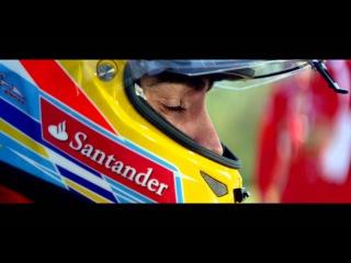 F1 2012 - Fernando Alonso and Felipe Massa Test the FIAT 500 Abarth Cabrio