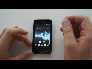 Sony Xperia tipo. Первый взгляд.