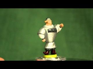 Киндер-сюрприз игрушка, богатырь из алеша попович