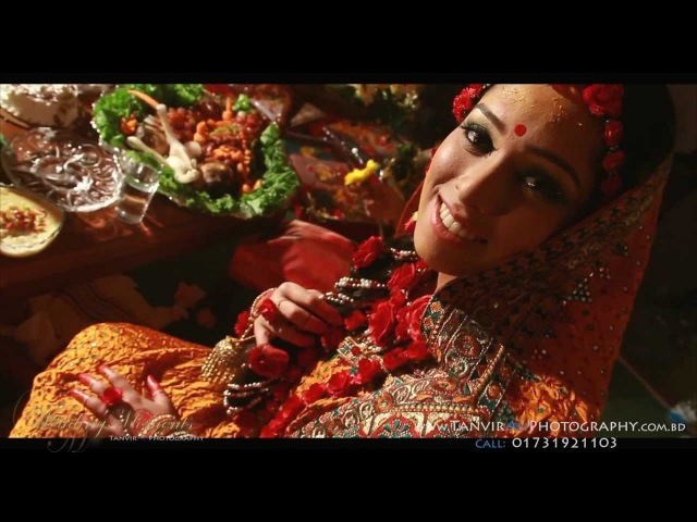 Farin's Holud Cinematography by WeddingMoments