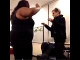 Ashley Dzerigian's Vine: Keisha Renee & Tommy Joe Ratliff do the Praise dance