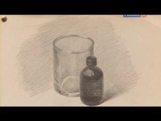 Стекло Уроки рисования с Сергеем Андриякой