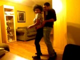 Me and My Boyfriend dancing to Husband or Wife- Nawlage