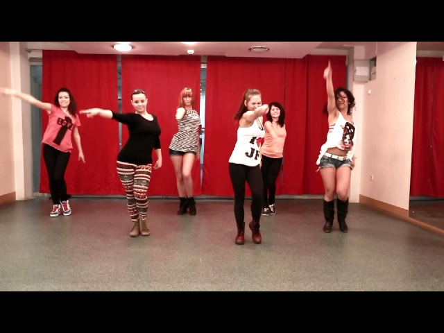 Choreography by Maria Kozlova, song: Destiny`s Child - nasty girl