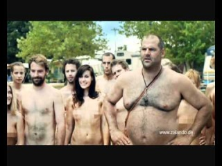Zalando Werbung Lustig Camping FKK Funny Commercial