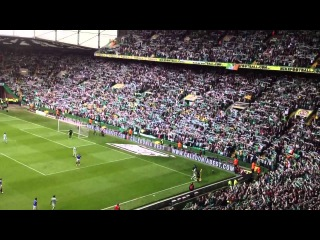 You'll Never Walk Alone vs Huns 29.04.12 Last Ever 'Old Firm' Game