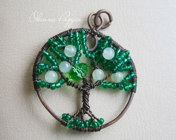Талисман дерево жизни своими руками 9