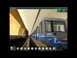 Trainz 12 - Перегон Марьина роща-Достоевская.