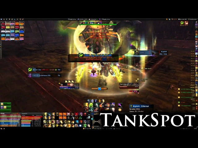 TankSpots Guide to Argaloth (Гайд по убийству Аргалота в Крепости Барадин)