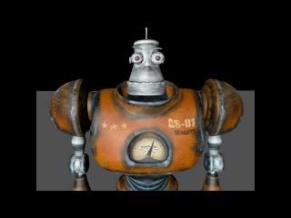 3Д Робот для Cinema 4D
