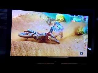 Ken Roczen Crash @ Agueda Portugal