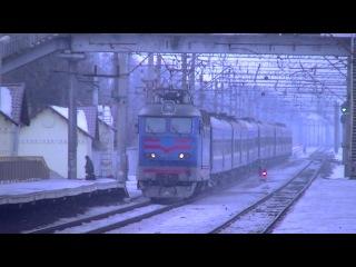 ЧС4-058 (КВР) с поездом 3 Москва - Киев