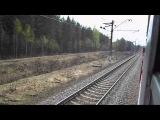Станция Поварово-2 → Платформа 142 км из окна ЭР2Т-7100