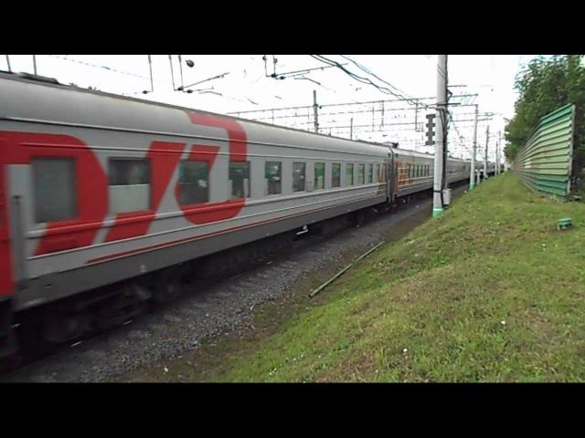 Электровоз ЧС2К-904 с поездом №076Э (Москва → Нерюнгри)