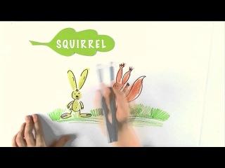 Английский для детей - Forest animals -  Лесные животные