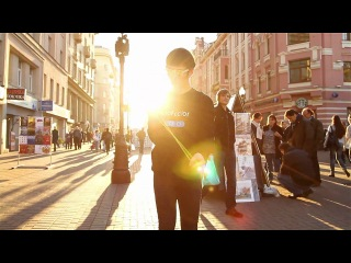 JUSTyoing Aleksandr Pelevin last sun in Moscow