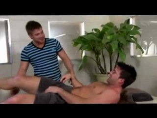 Hot Gay Scene (+18) : Relaxing Gay Massage. ( : Trystan Bull & Marko Lebeau )