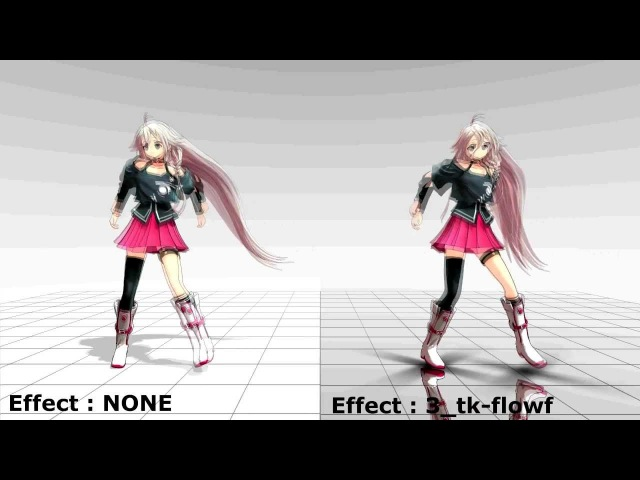 [MMD x MME] 24 Effects Demo [Split Screen] [MME x Effects DL]