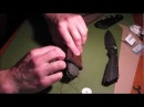 Making a Strider SMF Leather Knife Sheath - Part 2