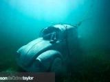 Fusca no fundo do mar - National Marine Park de Cancun - México