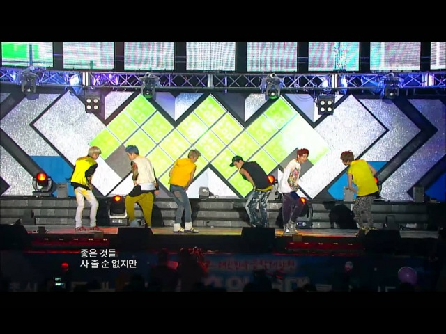 Teen Top – Music Core [Be Ma Girl] [18.08.2012] [Comeback Stage]