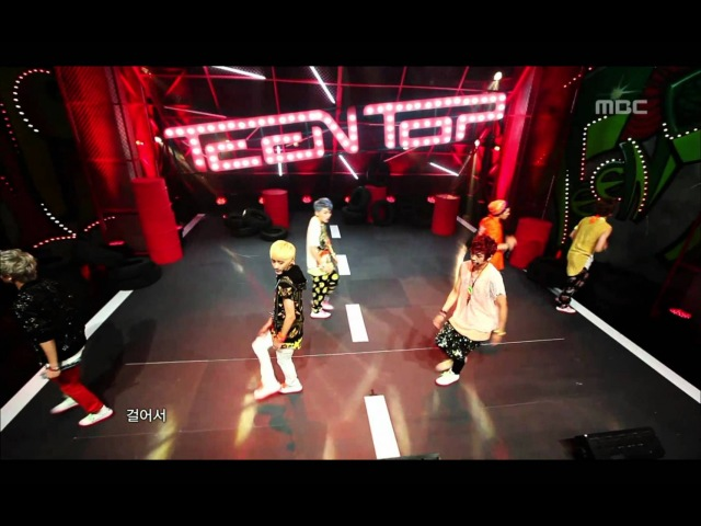 Teen Top – Music Core [Be Ma Girl] [4.08.2012] [Comeback Stage]