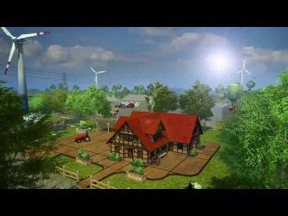 Симулятор Фермера 2013 Трейлер | Farming Simulator 2013 Trailer