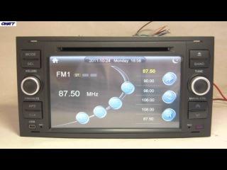 Ford Focus 2004-2008 Автомобильный DVD-плеер с GPS Bluetooth,