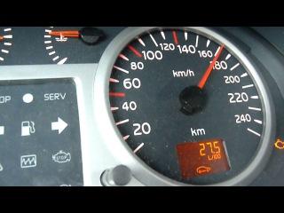 Renault Clio Sport 2.0 16V Acclerate, Beschleunigung 0-200 km/h